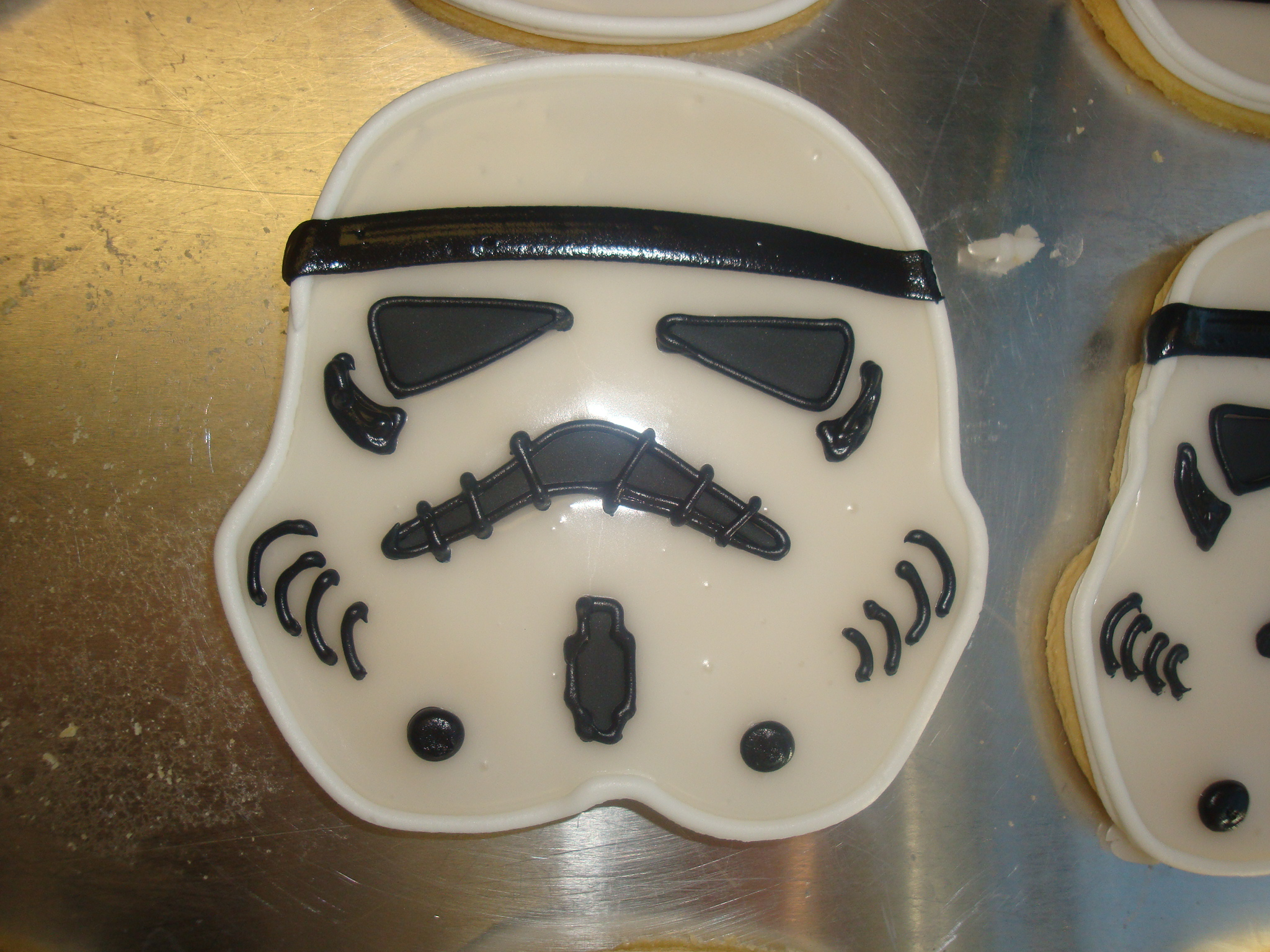 jumbo storm trooper sugar cookies $8