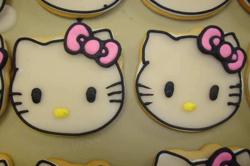 Hello Kitty cookies $3.50 each