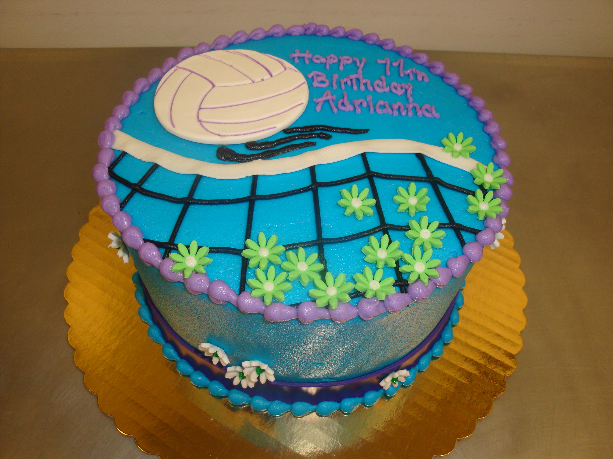 15 serving sportsball/net cake $85
