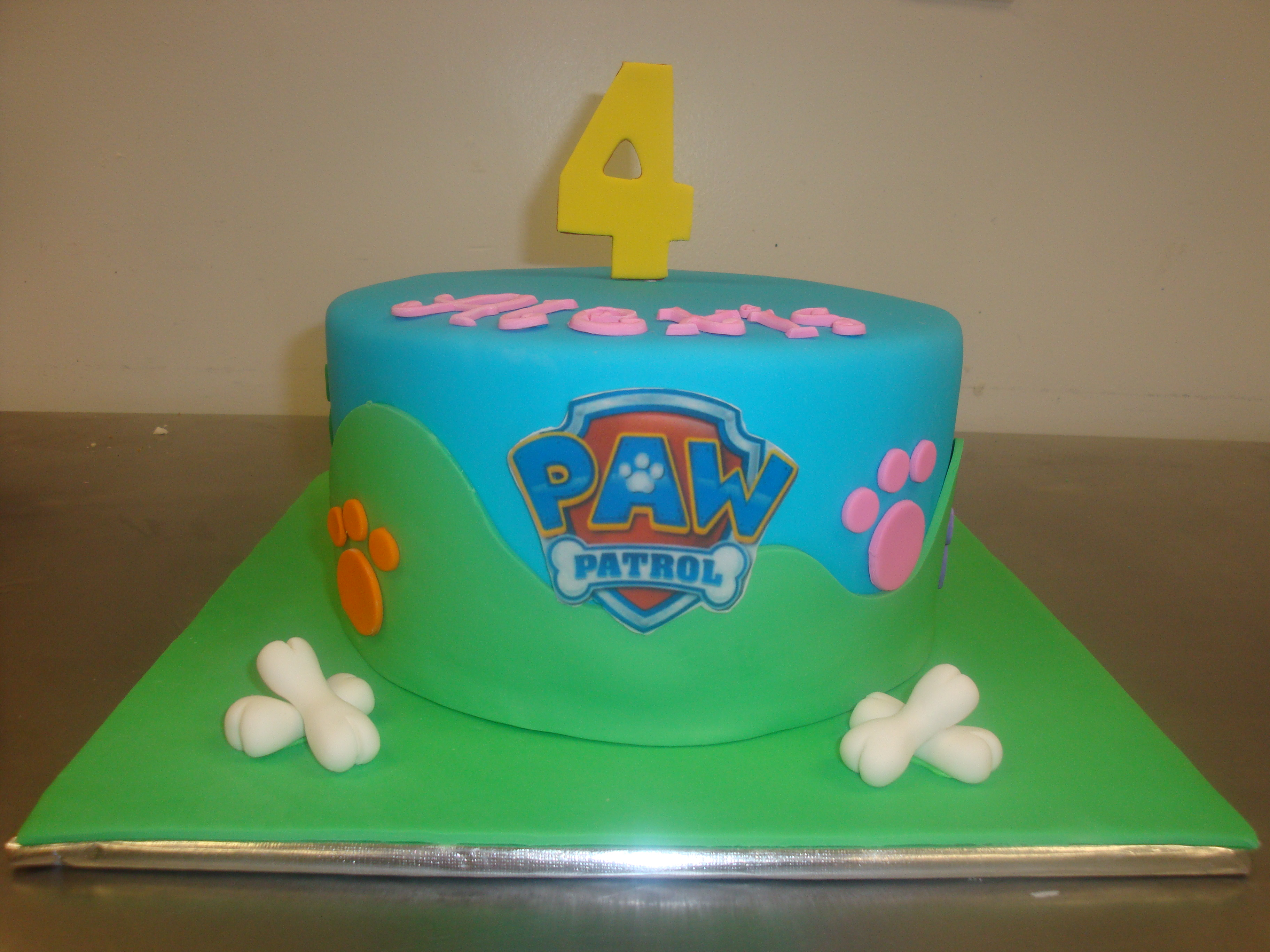 15 servings $75 with fondant covered board