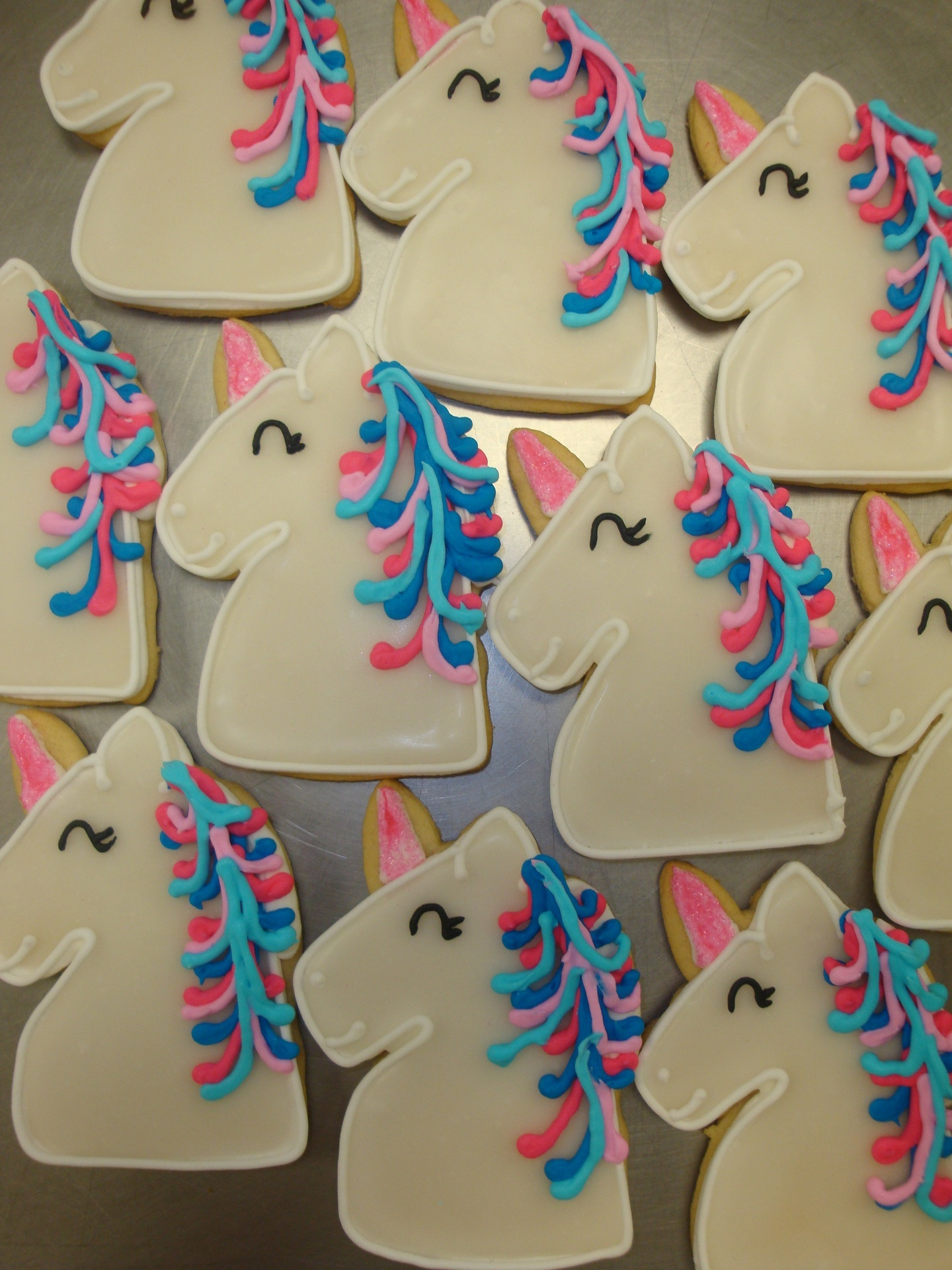 unicorn cookies $4  each