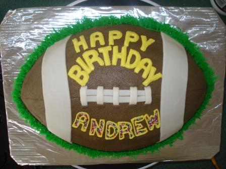 football birthday 15  servings $60