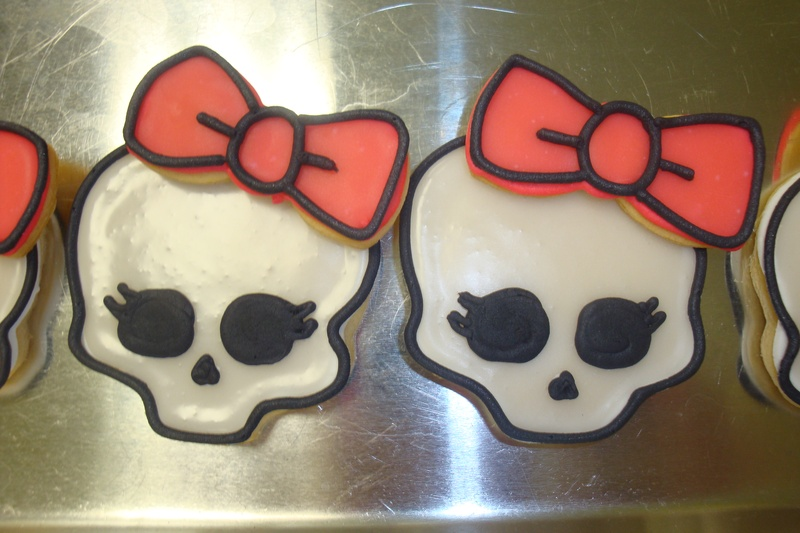 Monster high cookies $3.25 each