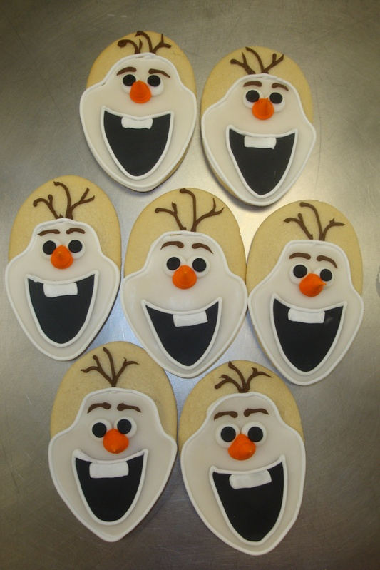 Olaf face cookies $4 each