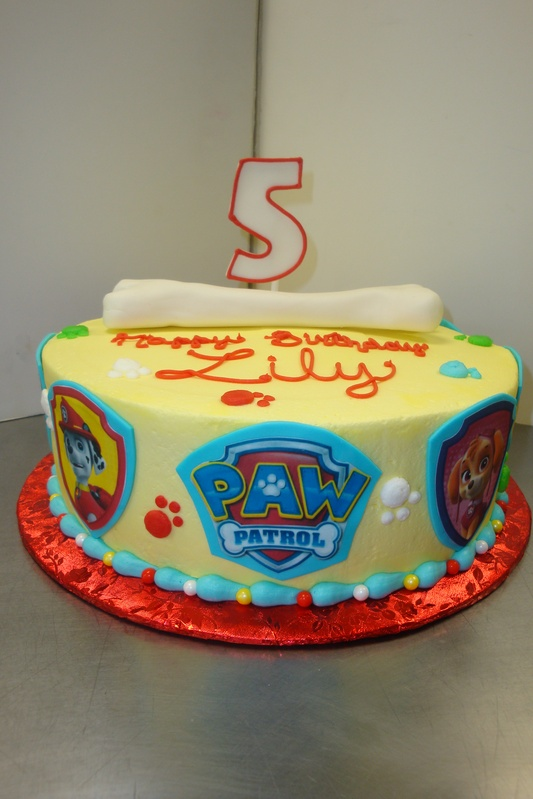 30 serving paw patrol $90